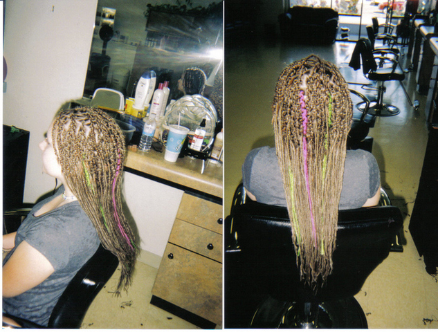 Extension Dreads ( I did )