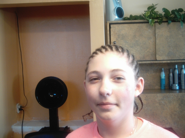 Cornrows At An Angle I Did