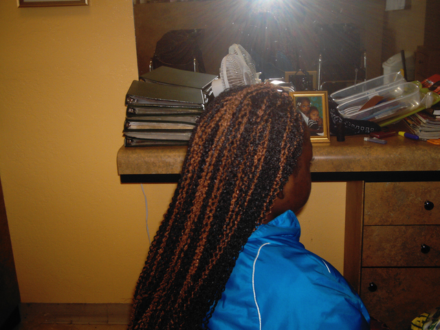 Kids croshet braids I did