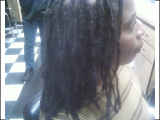 Dreadlock Extensions I did
