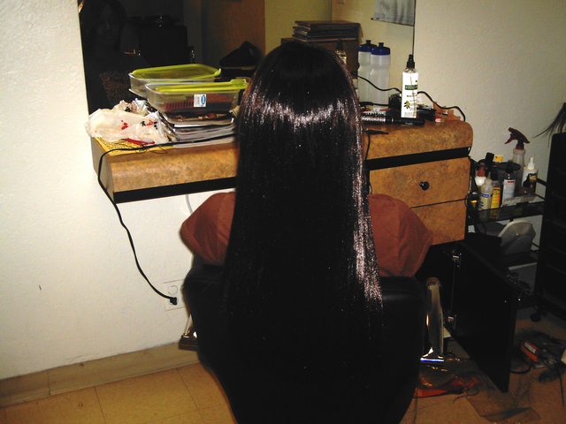 Sew On Hair Weave I did