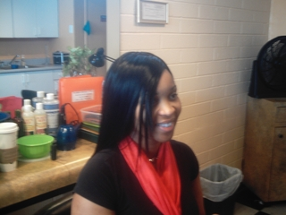 Full Head Weave I did