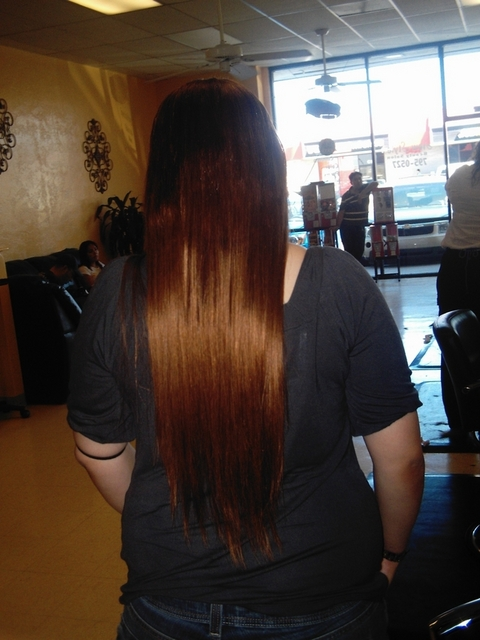 Glue In Weave (Skin Weft) I did