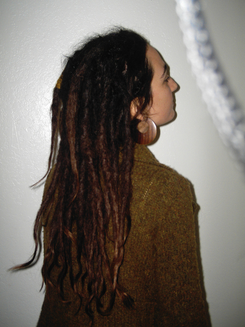 Interlocking Dreads: Long Dreadlocks I Latch Hooked