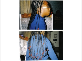 cornrows I did