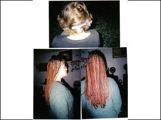 Red, Black & Blond I did