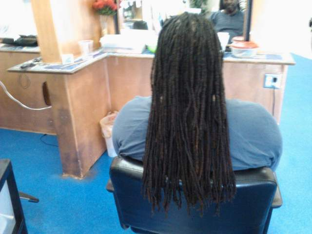 dreads i did